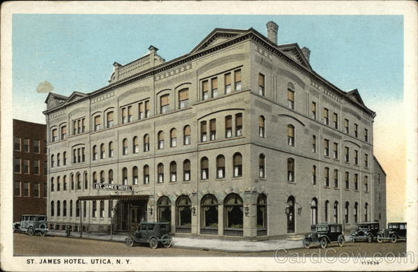 St. James Hotel Utica New York