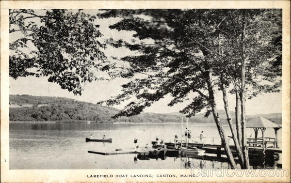 Lakefield Boat Landing Canton Maine