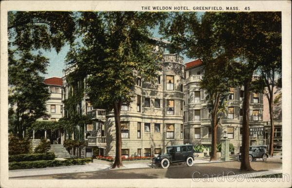 The Weldon Hotel Greenfield Ma