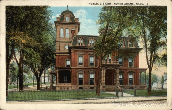 Public Library North Adams Massachusetts
