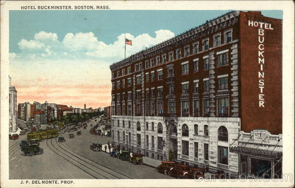 View of Hotel Buckminster Boston Massachusetts