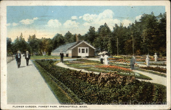 Flower Garden Forest Park Springfield Ma