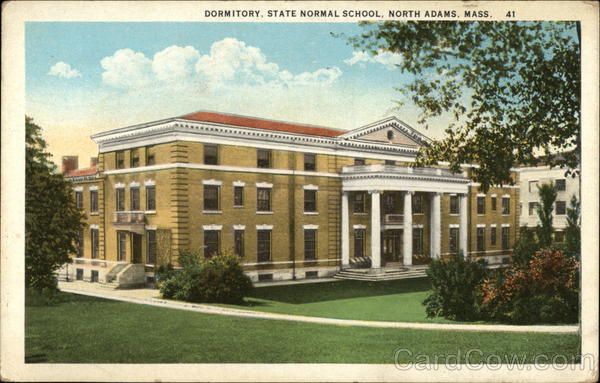 State Normal School - Dormitory North Adams Massachusetts