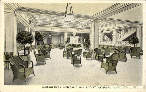 Waiting Room, Medical Block Rochester Minnesota