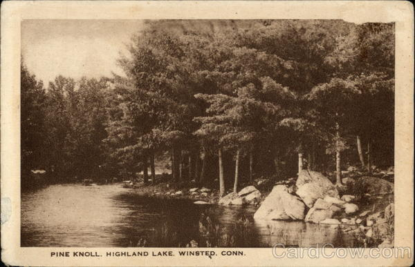 Highland Lake - Pine Knoll Winsted Connecticut