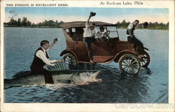 The fishing is excellent here buckeye lake oh for Buckeye lake fishing