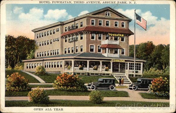 hotel powhatan third avenue asbury park nj. Black Bedroom Furniture Sets. Home Design Ideas