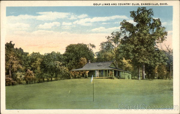 Golf Links and Country Club Zanesville Ohio