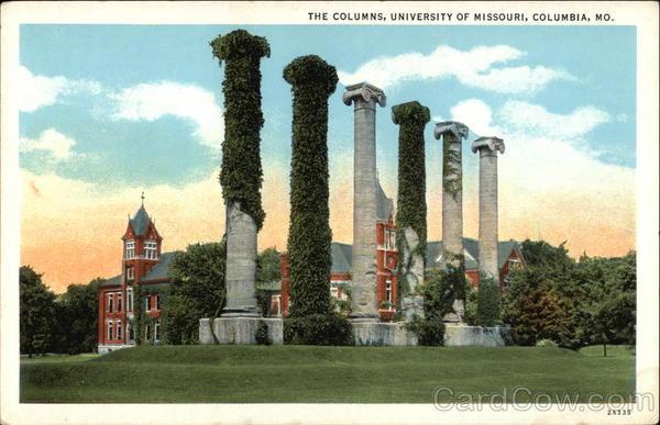 University of missouri the columns columbia mo for T shirt printing columbia mo