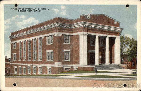 First Presbyterian Church Concordia Kansas