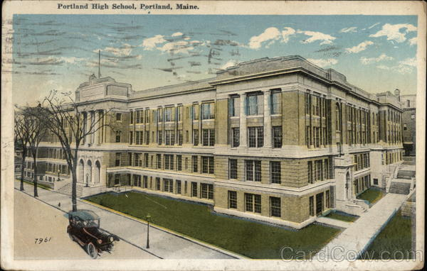 Portland High School Maine