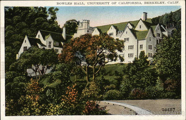 Bowles Hall, University of California Berkeley