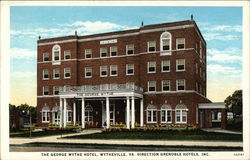 The George Wythe Hotel, Direction Grenoble Hotels, Inc Postcard