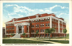 Lincoln Hall, Northern State Teacher's College