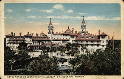 Hotel Ponce de Leon from the Alcazar