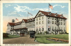 Hotel Champlain at Bluff Point