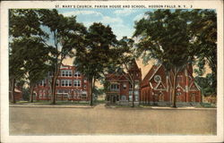 St. Mary's Church, Parish House and School