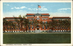 Centennial High School Postcard