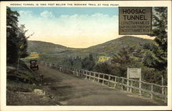 Hoosic Tunner is 1060 Feet Below the Mohawk Trail at This Point