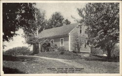 Original Home of Mary Sawyer, Mary and Her Little Lamb