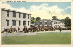 Barracks and Street Scene