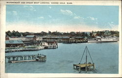 Waterfront and Steam Boat Landing