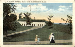 Old Fort Sewell, Built 1742