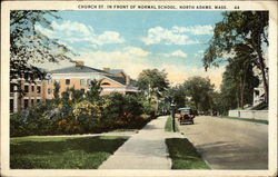 Church Street in front of Normal School