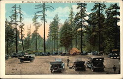 Eagle Creek Camping Grounds on the Columbia River Highway