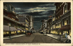 Granby Street, Looking North, By Night