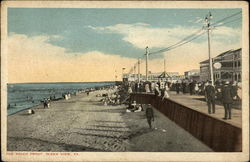 The Beach Front Postcard