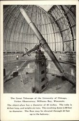 The Great Telescope of the University of Chicago, Yerkes Observatory