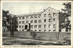 Elmhurst College - Irion Hall Postcard
