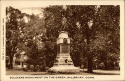 Soldiers Monument on the Green