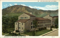University of Colorado Arts Building and Flat Irons