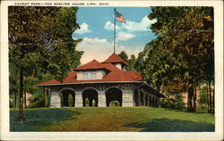Faurot Park, The Shelter House Postcard