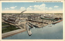 Bird's-Eye View of Shipyards