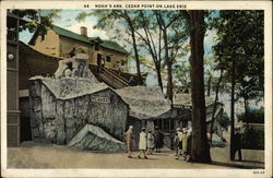 Noah's Ark, Cedar Point on Lake Erie Postcard