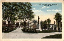 City Park and Hatch Monument