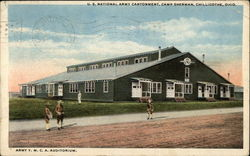 U.S. National Army Cantonment, Camp Sherman, Army Y.M.C.A. Auditorium