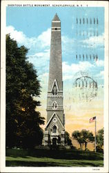 Saratoga Battle Monument