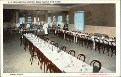 Dining Room, US Immigration Station