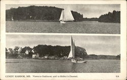 Views to Oakhurst and Ridley's Channel, Cundy's Harbor