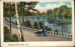 View of Lake and Scenic Drive
