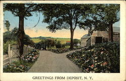 Greetings from Deposit, N.Y