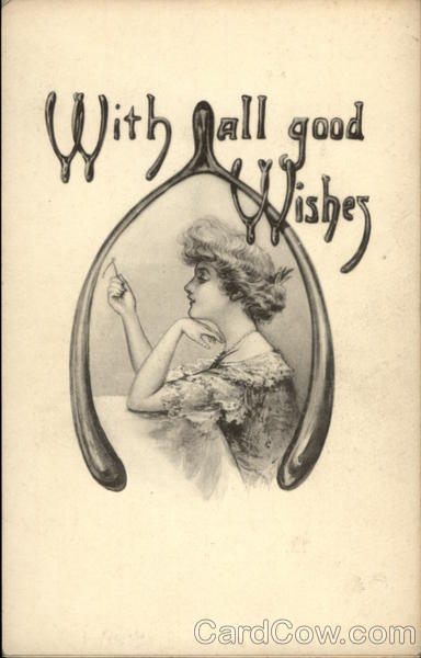 With all good Wishes - Wishbone Greetings
