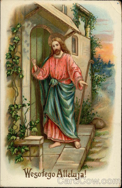 Jesus Stands at the Door and Knocks Religious