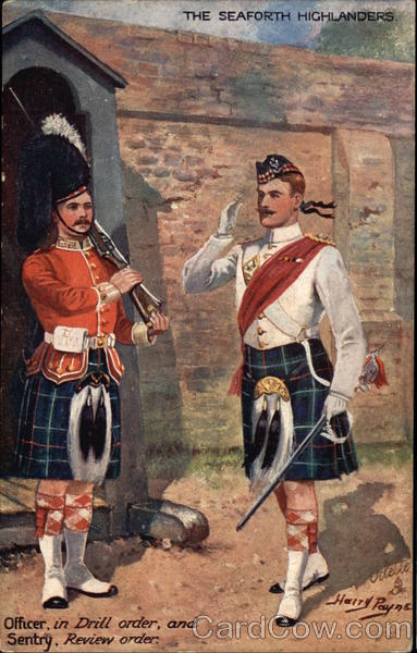 The Seaforth Highlanders Harry Payne Military