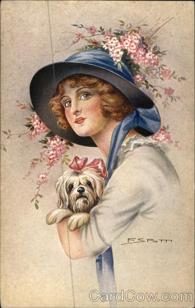 Woman Wearing Hat and Holding Dog Women