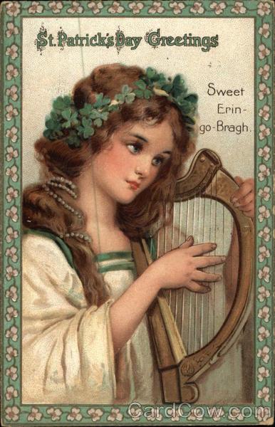 St patricks day greetings sweet erin go bragh m4hsunfo